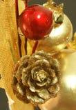 10圣诞节装饰 免版税库存图片