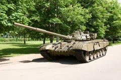 10坦克 免版税库存图片