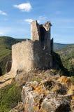 10城堡lastours 图库摄影