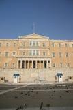 10希腊议会 免版税库存图片