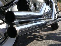 10摩托车 免版税库存照片