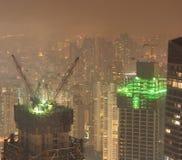 10晚上上海 免版税库存图片