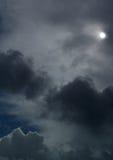 10月天空 图库摄影
