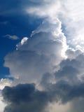 10朵云彩天空 免版税库存照片