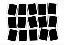 10模板 免版税库存照片