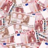 10欧元 免版税图库摄影
