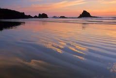 10海岸俄勒冈 免版税库存图片