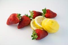 10草莓 库存照片
