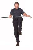 10高尔夫球 免版税库存图片