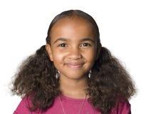 10 éénjarigen Latino meisje Royalty-vrije Stock Fotografie