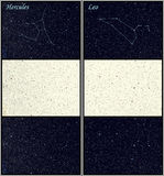 10 αστερισμοί Στοκ Φωτογραφία