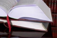 10 βιβλία νομικά Στοκ Εικόνες