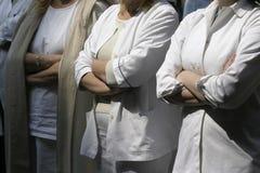 10 γιατροί Στοκ Φωτογραφία