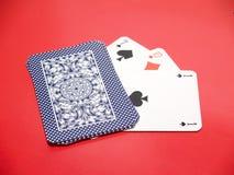 10 κάρτες Στοκ Εικόνα