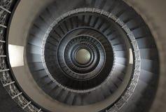10 ' πάτωμα θορίου της εκλεκτής ποιότητας σπειροειδούς σκάλας Στοκ Εικόνες
