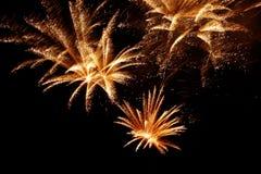 10 πυροτεχνήματα Στοκ φωτογραφίες με δικαίωμα ελεύθερης χρήσης