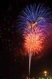 10 πυροτεχνήματα Στοκ Εικόνα