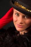 10 σειρές ρουζ moulin Στοκ εικόνες με δικαίωμα ελεύθερης χρήσης