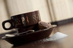 10 φλυτζάνι καφέ Στοκ Εικόνες