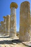 10 античных руин Стоковые Изображения RF