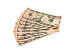 10 долларов кредитки Стоковое Изображение