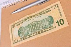 10 долларов Стоковые Изображения RF