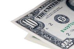 10 долларов Стоковые Фотографии RF