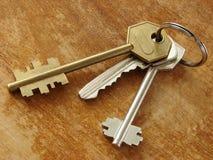 10 ключей Стоковые Изображения RF