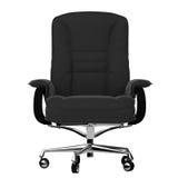 10 офис изолированный креслами Стоковая Фотография