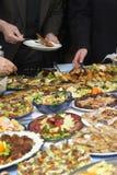 10 поставляя еду Стоковое Фото