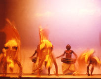 10 танцоров Цейлона Стоковое Фото