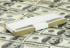 10 тысяч доллары Стоковое Фото