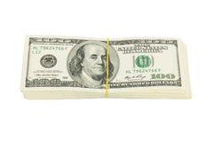 10 тысяч доллары Стоковые Фото