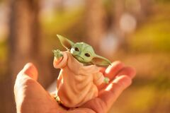 Free 10.07.2020 Plastic Figure Of Baby Yoda From The TV Series Mandalorets Royalty Free Stock Photo - 190670155