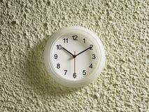 10.10 sur l'horloge Images stock