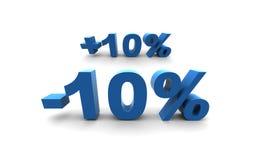 10% Imagens de Stock