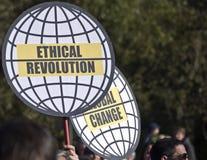 10 15 2011 berlin upptar protest Arkivfoton