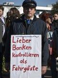 10 15 2011 berlin upptar protest Arkivbilder