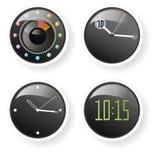 10 15 zegarów Fotografia Stock