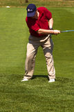 10高尔夫球 免版税库存照片