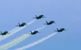 10 2009 lotniczych aniołów błękitny Lipiec przedstawienie Fotografia Stock