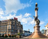 10 2012 miast Lviv mogą scena Ukraine Fotografia Royalty Free