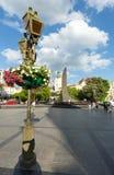 10 2012 stad lviv kan platsen ukraine Arkivfoton
