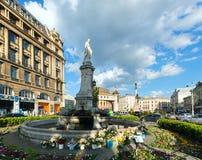 10 2012 stad lviv kan platsen ukraine Arkivbild