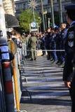 10 28 2011 athens greece ståtar protester Royaltyfri Fotografi
