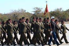 10毕业海军陆战队员 库存图片