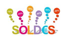 10 60 sprzedaży Zdjęcie Stock