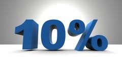 10% Stock Photography