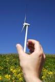 ветер 10 турбин Стоковое Изображение RF