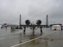 A-10 blikseminslag Royalty-vrije Stock Afbeeldingen